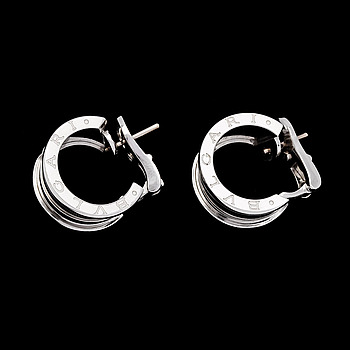 14. A pair of Bulgari Bzero1 earrings.