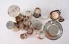 Parti diverse, ca 12 delar, silver mm.