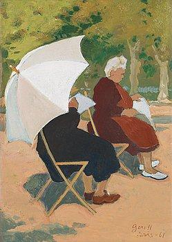 109. Greta Gerell, In the park, Paris.