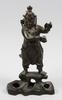 Figurin, brons, ostasien, 1900-tal.