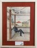OkÄnd konstnÄr, akvarell, 1900-talets första hälft, sign g.g.