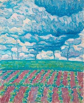 """112. Dick Beer, """"Franskt landskap"""" (Frensh landscape)."""