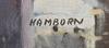 Hamborn, axel. olja på duk, sign.