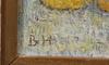 Halling, birger, 2 st, olja på masonitpannå, sign.