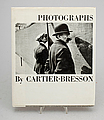 "BOK, ""Photographs"", av Henri Cartier-Bresson."