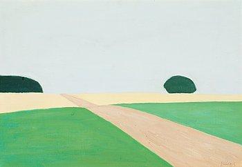 244. AXEL KARGEL, Landskap.