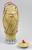 Lockurna, porslin, kina, 1800/1900-tal.