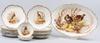 Fruktservis, porslin, 15 delar, limoges, tidigt 1900-tal.