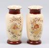 Vaser, ett par, glas, sent 1800-tal.