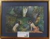 OkÄnd konstnÄr, akvarell, sign. gyuritza, möjligen ungern, 1900-talets första hälft.
