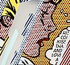 """Roy lichtenstein, """"reflections on girl"""", from: """"reflections series""""."""
