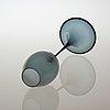 A nils landberg glass goblet, orrefors