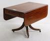Klaffbord, engelsk stil, 1800-tal.