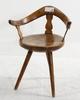 Stol, trä, allmoge. 1800-tal.