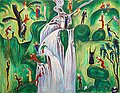 "NILS VON DARDEL, ""The waterfall"". Signed Da..."