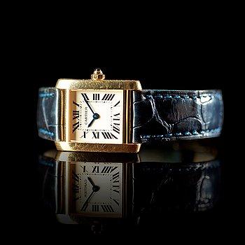 Cartier diamant klocka