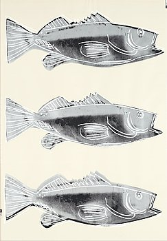 "269. Andy Warhol, ""Fish""."