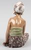 Figurin, porslin, 1950-tal, dahl-jensen, danmark.