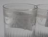 Glas, 3 st, empir, 1800-talets första hälft.