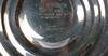 Ljuslyktor, ett par, glas och sterling, reed & barton.