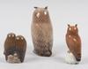 Figuriner, 3 st, porslin, royal copenhagen samt bing & gröndahl.