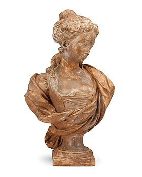 187. Simon Louis Boizot, SIMON LOUIS BOIZOT, terracotta, signed and dated 1774.