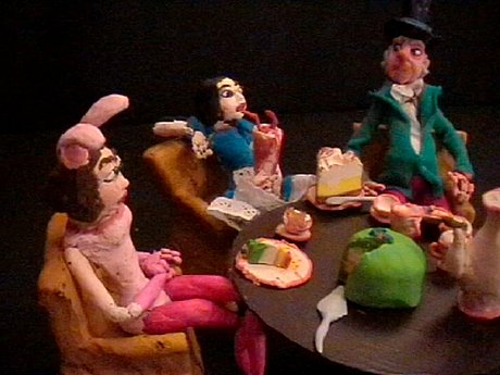 "Nathalie djurberg, ""the mad tea party""."