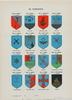 BÖcker, 4 st, heraldisk litteratur, frimurare, 1895-1928.