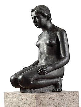 """281. Aristide Maillol After, """"Jeune fille agenouillée""""."""