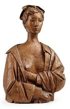 """280. Giacomo Manzù, """"Busto di Emy""""."""
