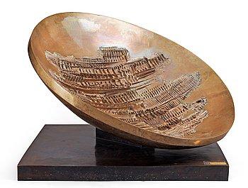 "285. Arnaldo Pomodoro, ""Radar No 2""."
