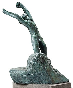 """283. Auguste Rodin, """"L'enfant prodigue""""."""