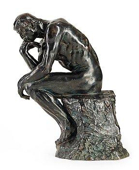 """282. Auguste Rodin, """"Le Penseur""""."""