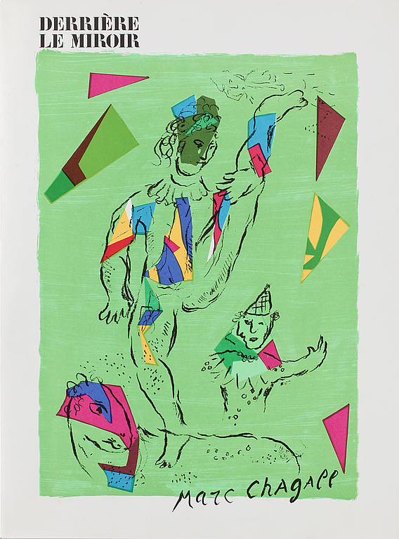 Derriere le miroir nummer 235 marc chagall maeght for Maeght derriere le miroir