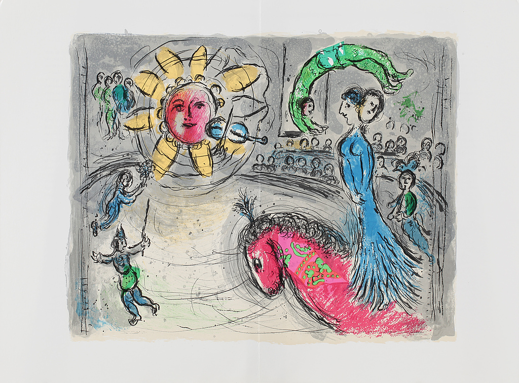 Derriere le miroir nummer 235 marc chagall maeght for Maeght derriere le miroir