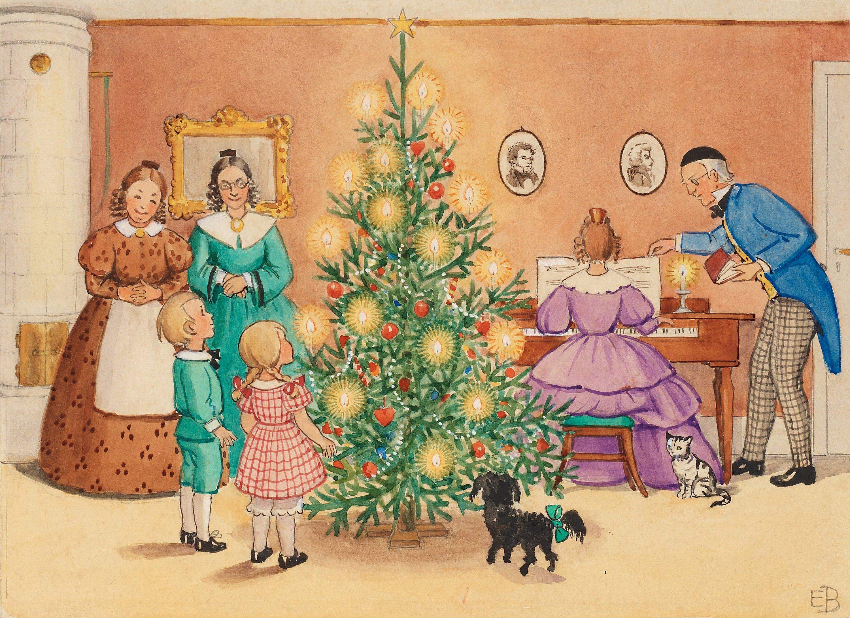 Bildresultat för elsa beskow jul
