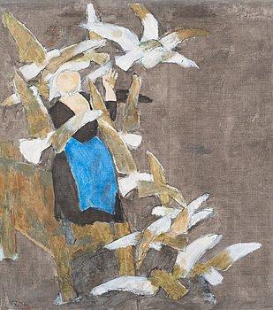 """229. RAGNAR SANDBERG, """"Vita fåglar""""."""