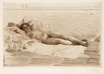 "169. Anders Zorn, ""Elin""."