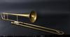 Trombon och trumpet, mässing, 1900-tal.