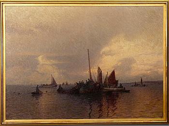 EMIL EKMAN, olja på duk, signerad och daterad 1919.