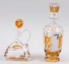 Karaffer, 2 st, glas, Åfors glasbruk.