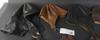 StridsvagnshjÄlm och bilhjÄlmar, 4 st samt mc-handskar, 3 par, skinn.