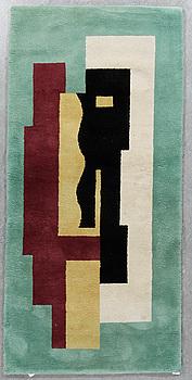 MATTA, tuftad, efter Fernand Leger, ca 240x114 cm.