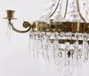 Ljuskrona, sengustaviansk stil, 1900 talets mitt. h 52