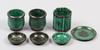 Parti keramik, 7 delar, wilhelm kåge, argenta, gustavsberg