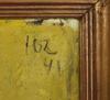 Larsson, osvald, olja på pannå, sign o dat  46