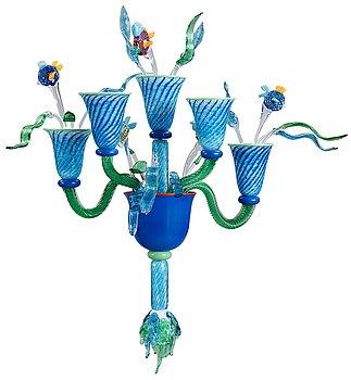 A Jonas Rooth glass applique, 1998.