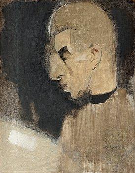 """240. Helene Schjerfbeck, """"Hyresvärden I"""" (The landlord)."""