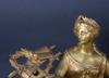 Bordspendyl, nyrokoko, frankrike sent 1800 tal. proveniens: git gay