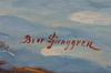 Ljunggren, bror, olja på duk, sign